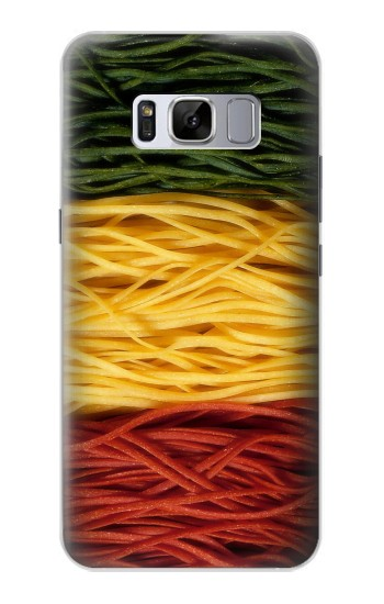 Printed Colorful Macaroni Samsung Galaxy S8+ Case