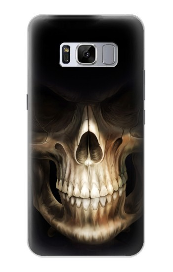 Printed Skull Face Grim Reaper Samsung Galaxy S8+ Case