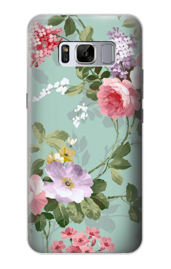 Printed Flower Floral Art Painting Samsung Galaxy S8+ Case