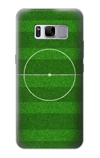 Printed Football Soccer Field Samsung Galaxy S8+ Case