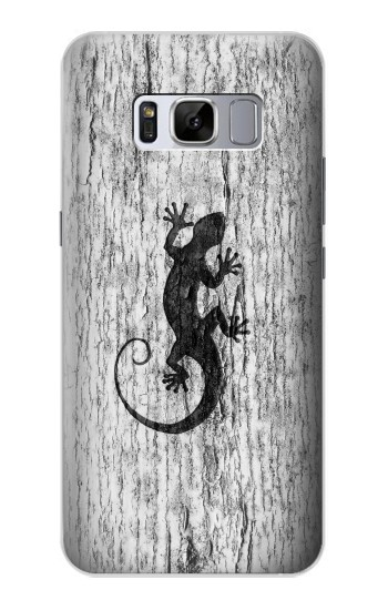 Printed Gecko Wood Graphics Printed Samsung Galaxy S8+ Case