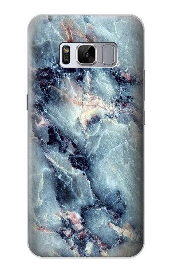 Printed Blue Marble Texture Samsung Galaxy S8+ Case