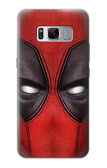 Printed Deadpool Mask Samsung Galaxy S8+ Case