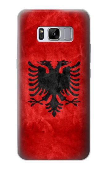Printed Albania Red Flag Samsung Galaxy S8+ Case