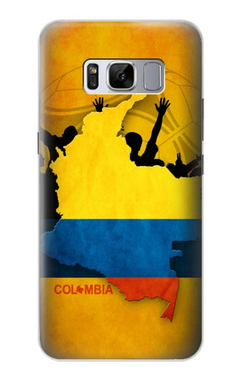Printed Colombia Football Flag Samsung Galaxy S8+ Case