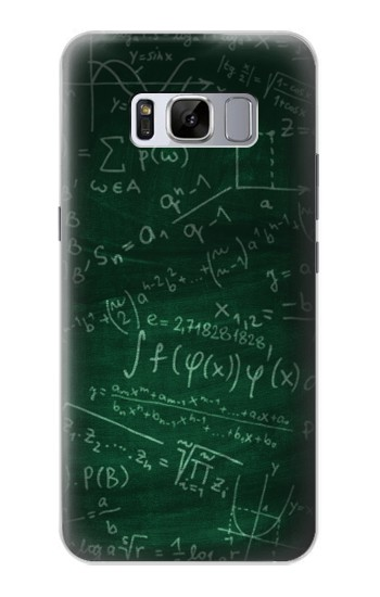 Printed Math Formula Greenboard Samsung Galaxy S8+ Case