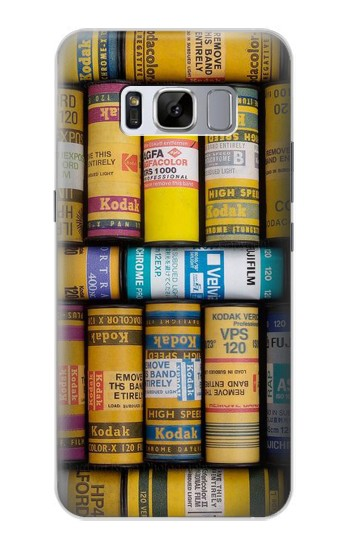 Printed MM Film Camera Samsung Galaxy S8+ Case