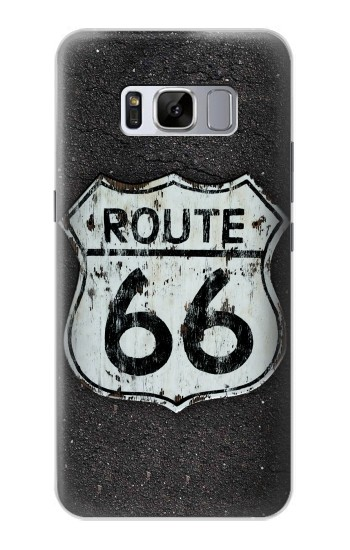 Printed Route 66 Sign Samsung Galaxy S8+ Case
