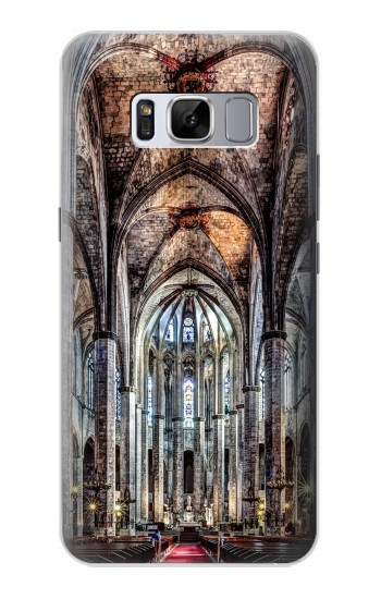 Printed Santa Maria Del Mar Cathedral Samsung Galaxy S8+ Case