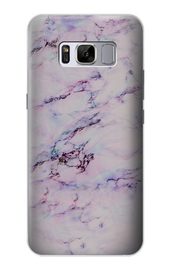 Printed Seamless Pink Marble Samsung Galaxy S8+ Case