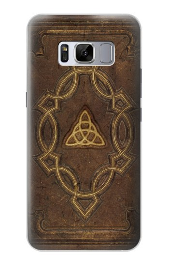 Printed Spell Book Cover Samsung Galaxy S8+ Case