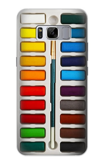 Printed Watercolor Paint Set Samsung Galaxy S8+ Case