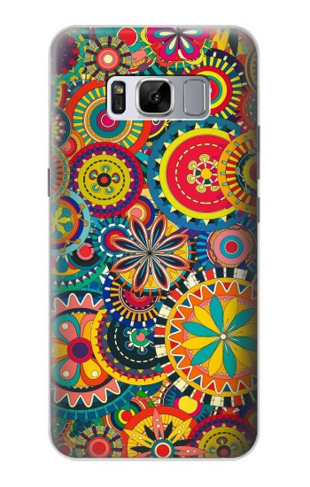 Printed Colorful Pattern Samsung Galaxy S8+ Case
