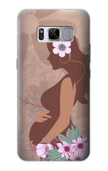 Printed Pregnant Mommy Baby Samsung Galaxy S8+ Case