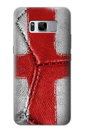 Printed England Flag Vintage Football 2018 Samsung Galaxy S8+ Case