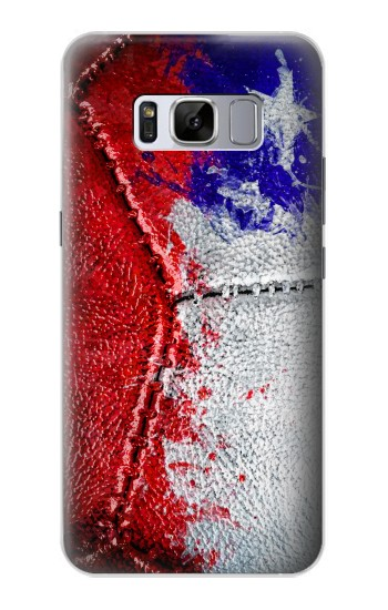 Printed Chile Flag Vintage Football 2018 Samsung Galaxy S8+ Case