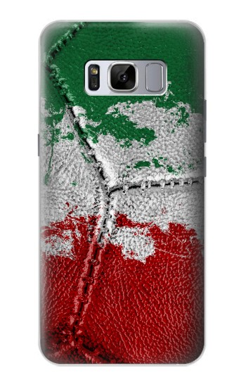 Printed Italy Flag Vintage Football 2018 Samsung Galaxy S8+ Case