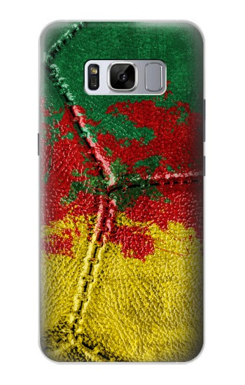 Printed Senegal Flag Vintage Football 2018 Samsung Galaxy S8+ Case