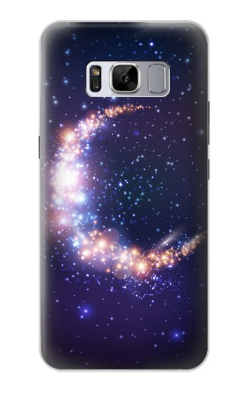Printed Crescent Moon Galaxy Samsung Galaxy S8+ Case