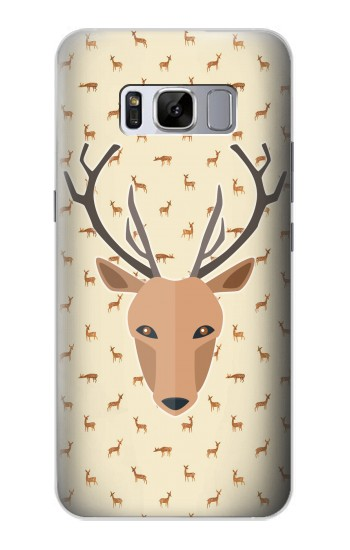 Printed Deer Pattern Samsung Galaxy S8+ Case