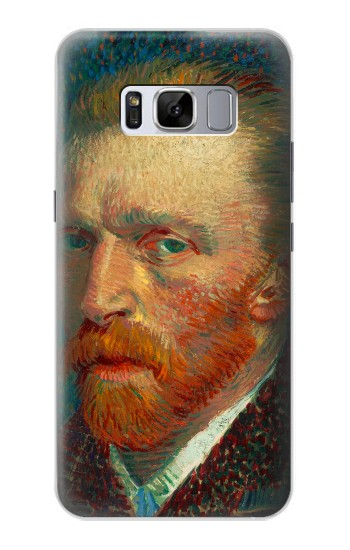 Printed Vincent Van Gogh Self Portrait Samsung Galaxy S8+ Case