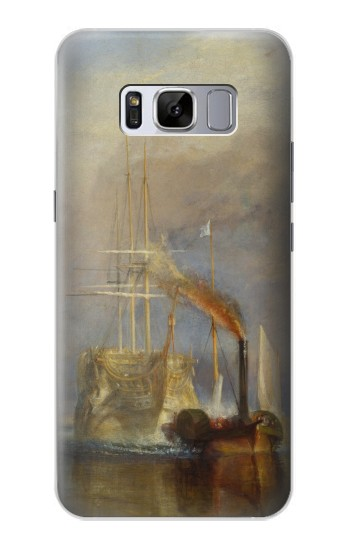 Printed Joseph Mallord William Turner The Fighting Temeraire Samsung Galaxy S8+ Case