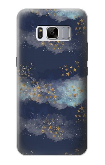 Printed Gold Star Sky Samsung Galaxy S8+ Case