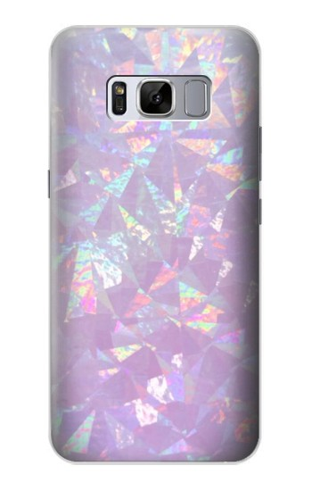 Printed Iridescent Holographic Photo Printed Samsung Galaxy S8+ Case