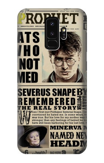 Printed Harry Potter Daily Prophet Samsung Galaxy S9+ Case