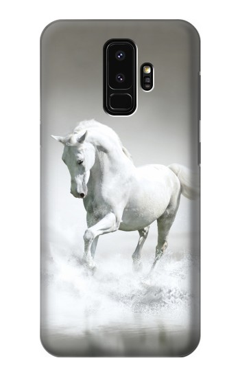 Printed White Horse Samsung Galaxy S9+ Case