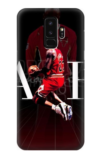 Printed Basketball Air Jordan Samsung Galaxy S9+ Case