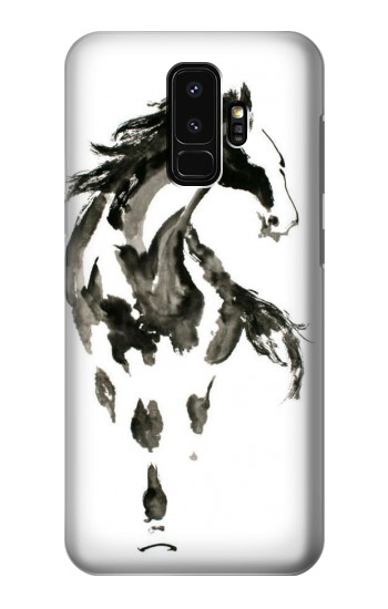 Printed Horse Paintbrush Samsung Galaxy S9+ Case