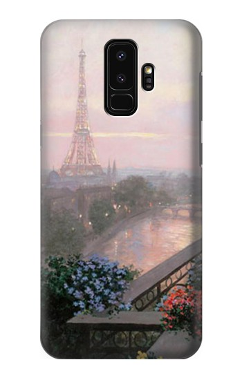 Printed Terrace in Paris Eifel Samsung Galaxy S9+ Case