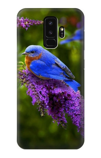 Printed Bluebird of Happiness Blue Bird Samsung Galaxy S9+ Case