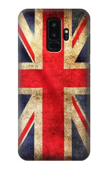 Printed British UK Vintage Flag Samsung Galaxy S9+ Case
