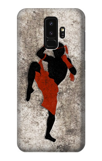 Printed Muay Thai Fight Boxing Samsung Galaxy S9+ Case