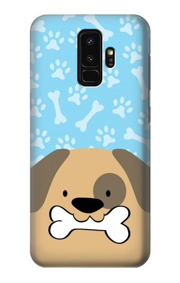 Printed Cute Dog Cartoon Samsung Galaxy S9+ Case