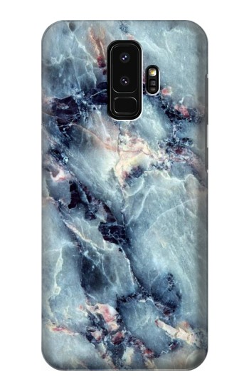 Printed Blue Marble Texture Samsung Galaxy S9+ Case