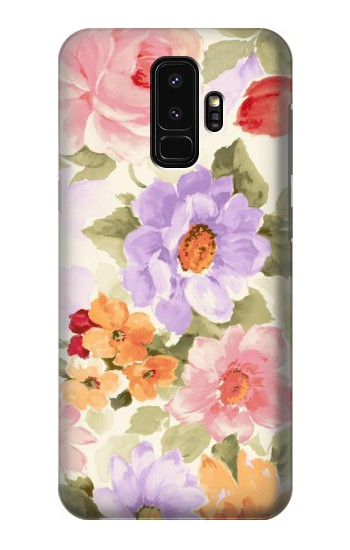 Printed Sweet Flower Painting Samsung Galaxy S9+ Case