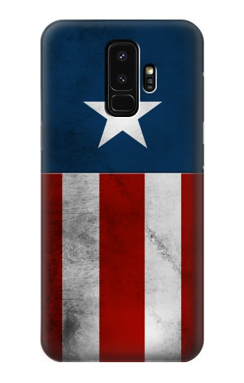 Printed Captain Star Flag of America Samsung Galaxy S9+ Case