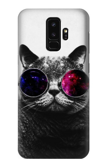 Printed Cool Cat Glasses Samsung Galaxy S9+ Case