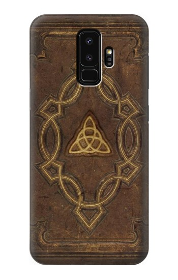 Printed Spell Book Cover Samsung Galaxy S9+ Case