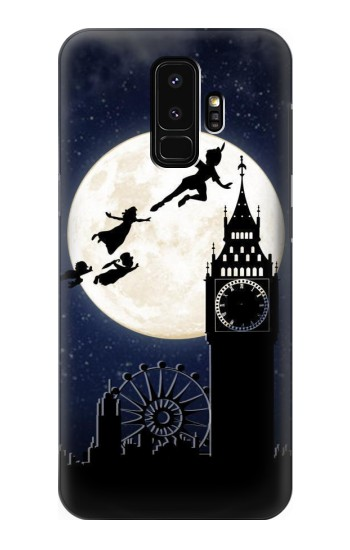 Printed Peter Pan Fly Fullmoon Night Samsung Galaxy S9+ Case