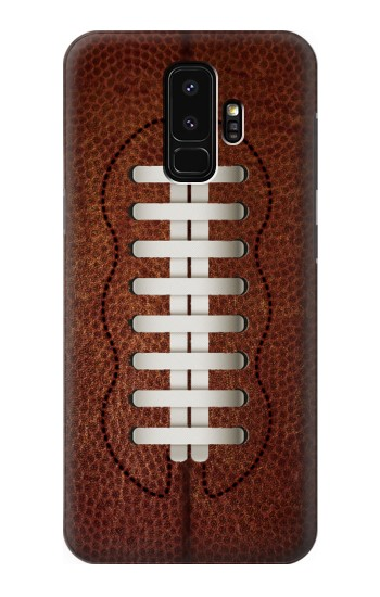 Printed Leather Vintage Football Samsung Galaxy S9+ Case