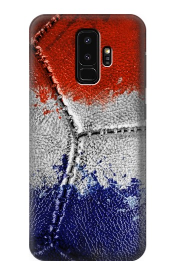 Printed France Flag Vintage Football 2018 Samsung Galaxy S9+ Case