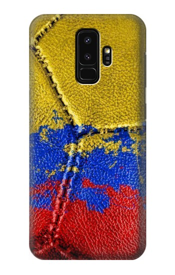 Printed Colombia Flag Vintage Football 2018 Samsung Galaxy S9+ Case
