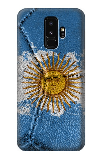 Printed Argentina Flag Vintage Football 2018 Samsung Galaxy S9+ Case