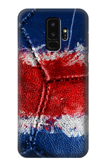 Printed Costa Rica Flag Vintage Football 2018 Samsung Galaxy S9+ Case