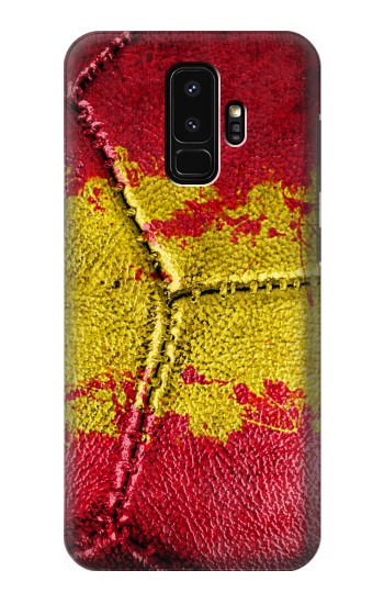 Printed Spain Flag Vintage Football 2018 Samsung Galaxy S9+ Case