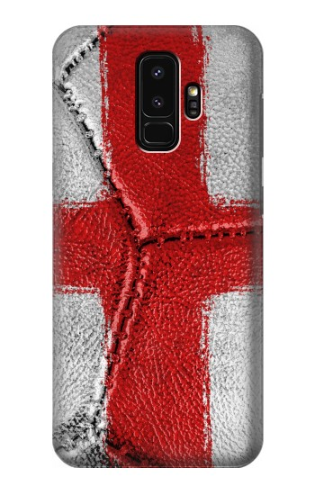 Printed England Flag Vintage Football 2018 Samsung Galaxy S9+ Case